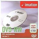 DVD-RW 4.7gb Single Sided Rewritable