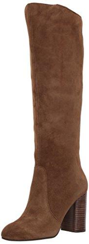 Dolce Vita Women's Rhea Fashion Boot, Brown Suede, 9.5 Medium US