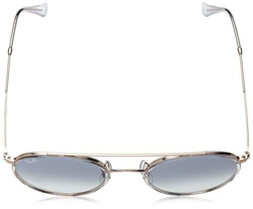 Sol 0RB3647N Ray Adulto copper de Bronze Light Unisex Blue Ban Gradient Gafas Transparente wZ6qIg