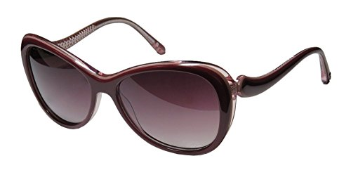Koali 7110k Womens/Ladies Cat Eye Full-rim Sunglasses/Eyewear (55-15-135, Plum / - Koali Sunglasses