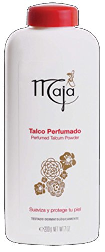 Maja Perfumed Talcum Powder| Freshening Talcum Powder, Leaving Skin Smooth and Delicately Perfumed; 7 Ounces
