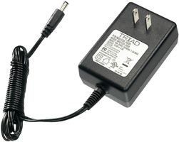 TRIAD MAGNETICS WSU240-1500 AC-DC CONV, EXTERNAL PLUG IN, 1 O/P, 36W, 24V