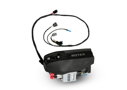 2017 Rotax Max Evo Ignition Wiring Loom And Battery Cradle: