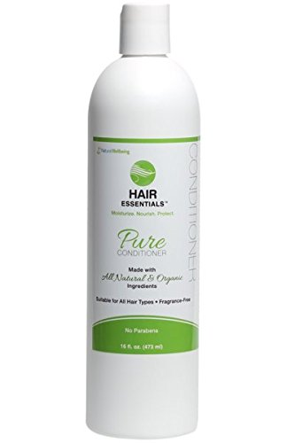 Amazon com : Natural Wellbeing - Hair Essentials - Pure Conditioner