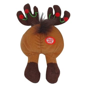 Tootin Tushies Farting Reindeer Ornament by Novelties Wholesale