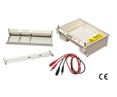 Gel System Electrophoresis (Satori Bio Snow White Wide Mini Horizontal Gel Electrophoresis System)