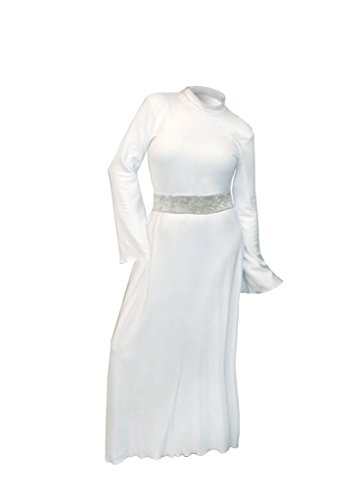 Sanctuarie Princess Leia Plus Size Supersize Halloween Costume Dress Only 4X -