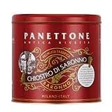 Chiostro Di Saronno Classic Panettone in Elegant Metal Tin, 1000g (2.2Lbs), Milano Italy