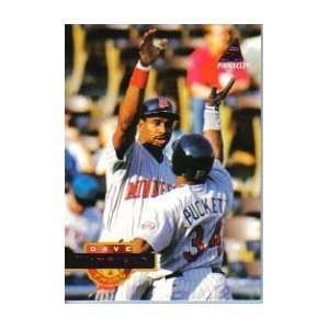 (1994 Pinnacle #332 Dave Winfield Minnesota Twins Baseball Card)