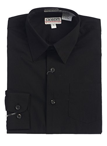 Gioberti Boys Solid Dress Shirt product image