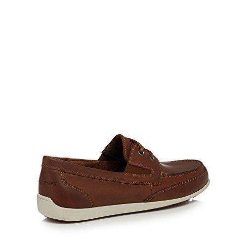 Rockport - Zapatillas para hombre rojo canela