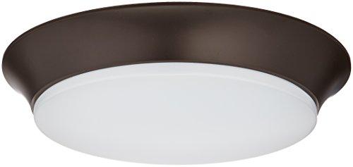 Maxim Lighting 87590WTBZ Acrylic Flush Mount, Bronze