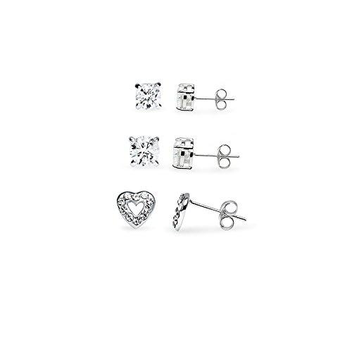 Sterling Silver Novelty Earrings Infinity