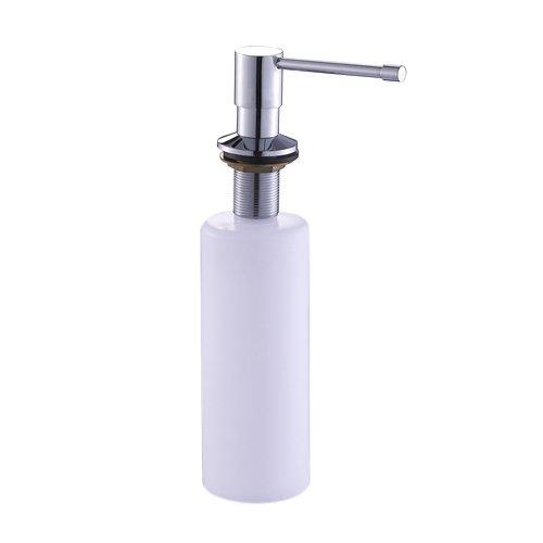 Lightinthebox Chrome Finish Soap Dispenser for Kitchen Sink Lavatory Accessories Shower Soup Holder Bathroom Bath Liquid Shampoo Saver Contemporary a Grade ABS Sink Dispenser with Long Spout