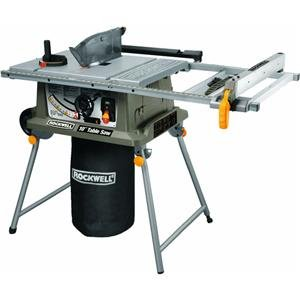 Rockwell Table Saw with Laser