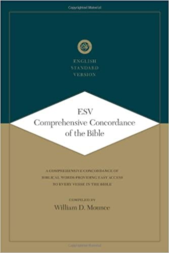 Amazon com: ESV Comprehensive Concordance of the Bible (A