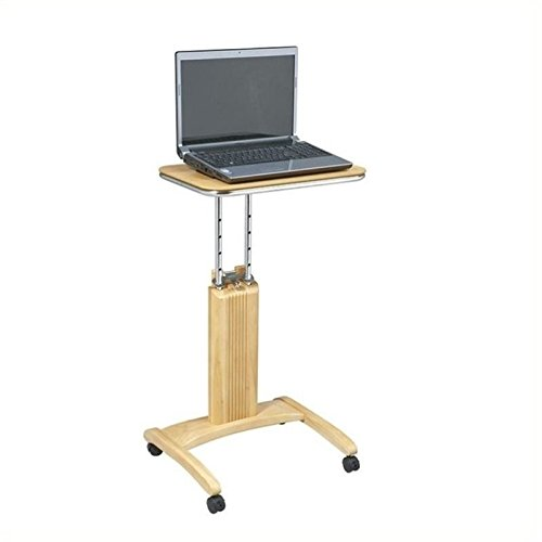 Scranton and Co Adjustable Laptop Stand in Maple by Scranton & Co