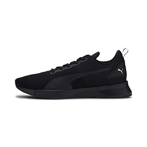 PUMA Men's Flyer Runner Running Shoes, Black High Risk Red, 8