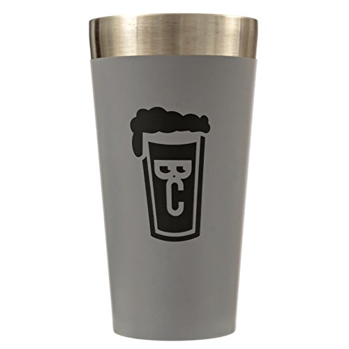'The Whole Pint' by Beer Choir: Stainless Steel, Double Wall, Vacuum Insulated Cup. Stays cold longer than a glass pint. Perfect for beer, mixed drinks, milkshakes. Indoor, outdoor, & travel. by Beer Choir