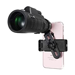 Specifications: Magnification: 10X Objective diameter: 18mm Model Number: 35x50 Exit Pupil Distance: 2.3 Exit Pupil Diameter: 1.8 View: 1200mm/9600mm Prism Material: BAK4 Coating Film: FMC wide band green film Focusing: Objective adjustment +...