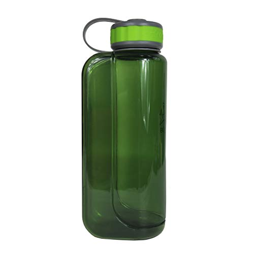 OllyDog 1030-1000-80 Grass OllyBottle Water Bottle, 1 L