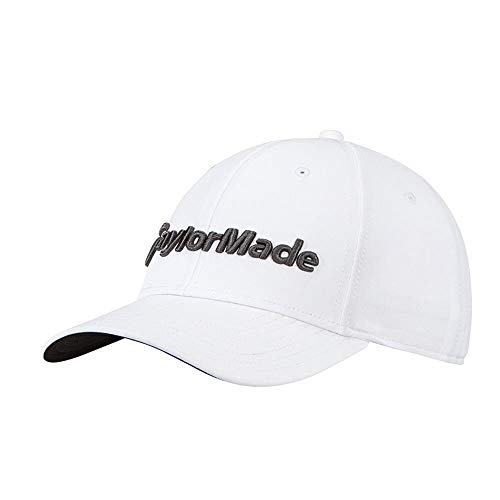 TaylorMade Golf 2018 Men's Performance Seeker Hat, White, One Size