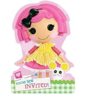 Lalaloopsy Invites [Contains 4 Manufacturer Retail Unit(s) Per Amazon Combined Package Sales Unit] - SKU# 491184 -