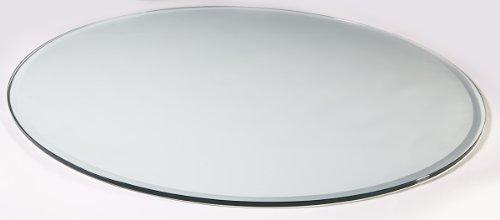 Glasplatte 100 Cm Esg 12mm Sicherheitsglas Rund Mit Facettenschliff