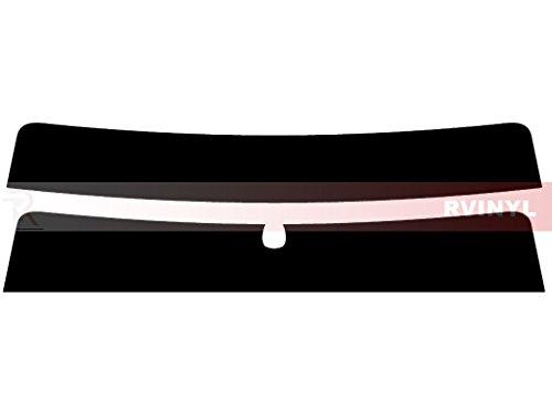 Rtint Window Tint Kit for Hyundai Accent 2006-2011 (Sedan) - Windshield Strip - 5%