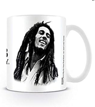 Tricolour Circle Bob Marley Mug Keramik Tasse gewölbt Becher oval 425 ml