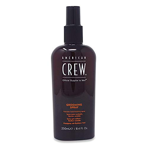 American Crew Grooming Spray for Men, Variable Hold, 250 ml