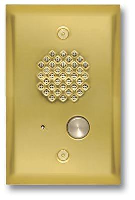 Viking Door Box Polished Brass by Viking