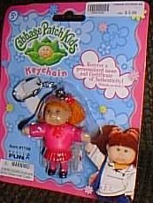Cabbage Patch Red Haired Girl in Pink Clothes -