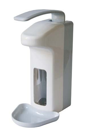 Wandspender Kunststoff 500 ml mit Armhebel