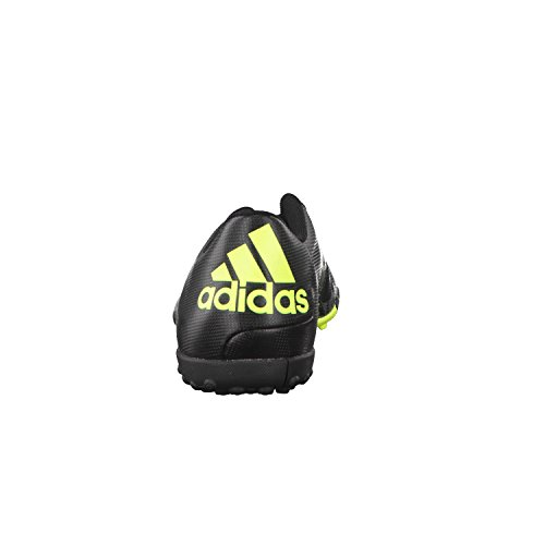 adidas Performance Herren X15.4 TF Fußballschuhe Negro / Gris / Amarillo