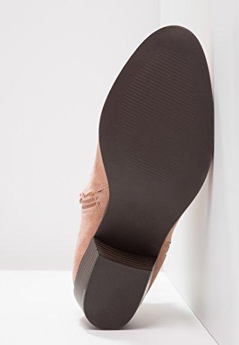 Even&Odd Ankle Boots Damen in Schwarz oder Rosa - Stiefeletten mit Blockabsatz