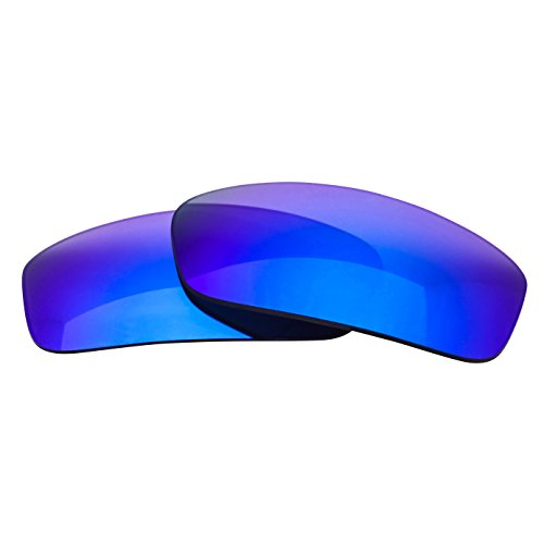 LenzFlip Replacement Lenses for RayBan Predator 2 RB2027 (62mm) - Gray Polarized with Blue - Blue Bans Ray Lens
