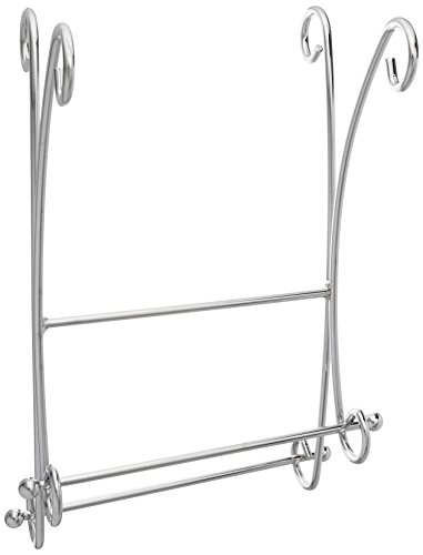 Taymor Chrome Two Tier Curled Fingertip Towel Valet