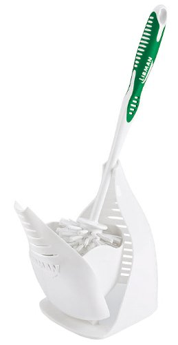 Libman 40 Designer Bowl Brush and Caddy with hygienic Design