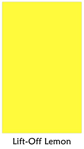 Premium Color Card Stock Paper | 250 Per Pack | Superior Thick 65-lb Cardstock, Perfect for School Supplies, Holiday Crafting, Arts and Crafts | Acid & Lignin Free | Lift-Off Lemon | 8.5 x 14