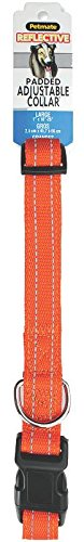 Aspen Pet Products Reflective Pad Adjustable Collar, 26