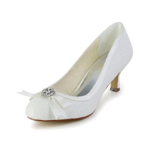 Jia Jia Wedding 1403113 Hochzeitsschuhe Brautschuhe Damen Pumps Beige