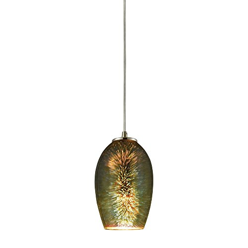 Elk Lighting 10506/1 Ceiling-Pendant-fixtures Nickel from ELK Lighting