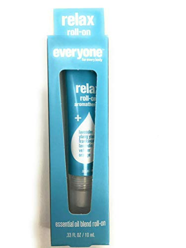 EO, Aromatherapy Roll-On Tube - Relax, 0.33 Ounce ()