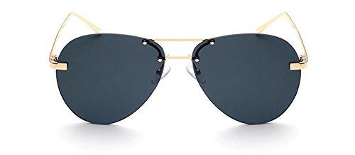 du style vintage soleil lunettes Frêne Noir en retro de polarisées Lennon rond métallique inspirées cercle w5I0Xx0