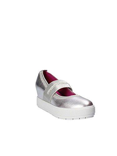 Lycra Estate Silver Collezione silver Nuova Fornarina Shoe Wo's 2017 Metallic Primavera Pe17mj1004m090 Meti v76wIU
