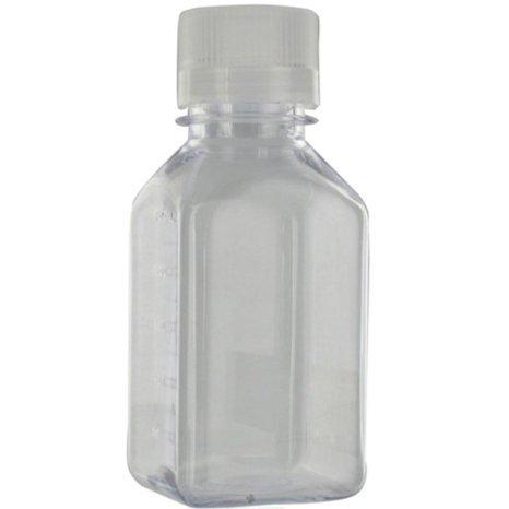Lexan Square Storage Bottle 8 oz ()