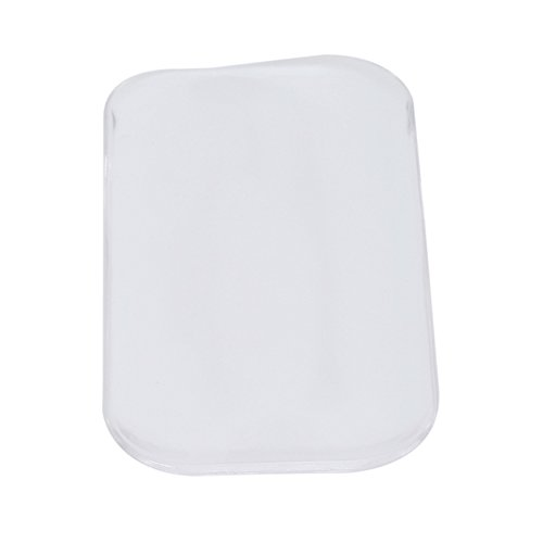 Rurah Silicone Eyelash Holder Pad Lash Stands Forehead Glue Pallet for Eyelash Extensions,Transparent color