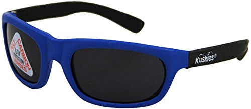Kushies Kid Size Dupont Rubber Sunglasses with Polycarbonate Lenses (Newborn, - Sunglasses Newborns For