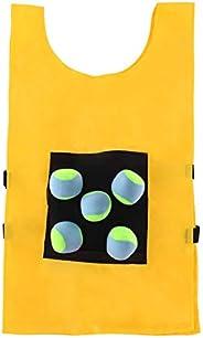 Dodgeball Game Vest, Children's Sensory Integration Training Equipment, Throwing Sticky Vest, Dodge Game P